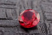ruby red from chromium