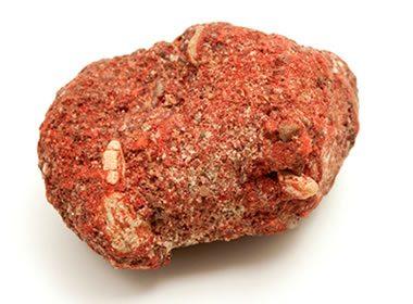 cinnabar in sediment porosity