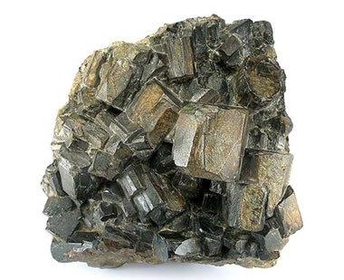 Cordierite crystals