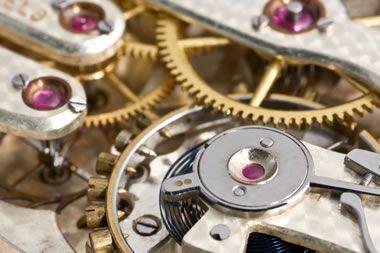 corundum watch bearings