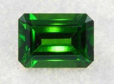 faceted chrome diopside