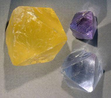 Fluorite cleavage
