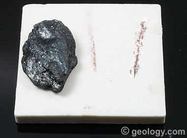 red streak of hematite