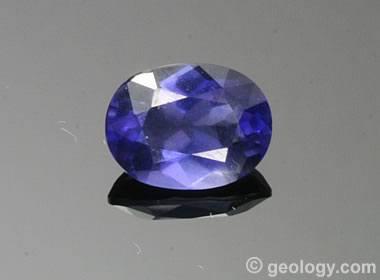 Iolite Gem Quality Cordierite And Blue Sapphire Look Alike