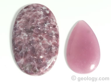 Lepidolite Cabochons