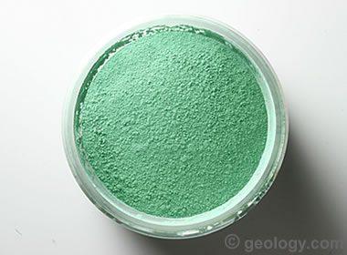 malachite pigment