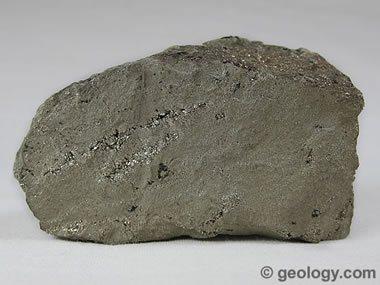 Massive pyrite
