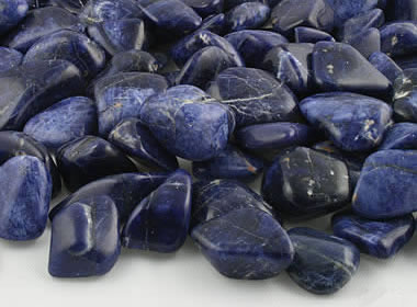 sodalite the rare blue mineral used as a gem