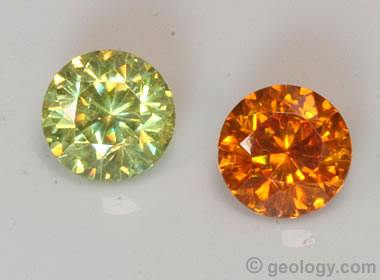 Sphalerite gemstones