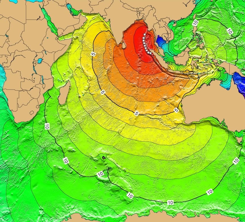 Indian Ocean Tsunami Threat From Subduction Zone Earthquakes