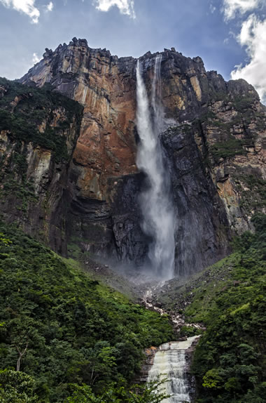 Worlds Tallest Waterfall Angel Falls The Highest In World