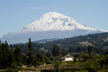 Chimborazo - Highest Mountain Above Earth's Center