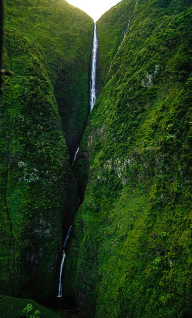 highest waterfalls in the United States