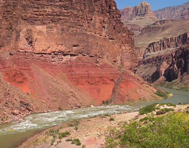 Dike in the Grand Canyon