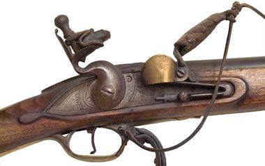 chert used in a flintlock