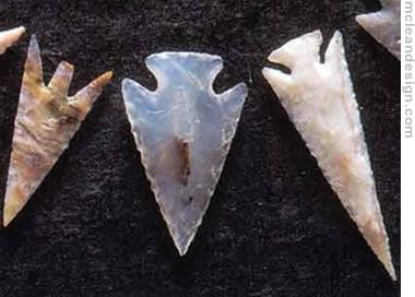 flint projectile points