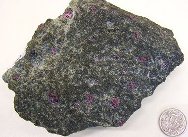 Garnet peridotite