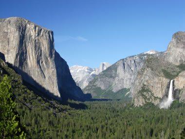 Granite in Yosemite Valley