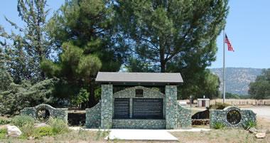 Mariposite monument