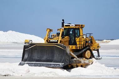 mechanized salt production