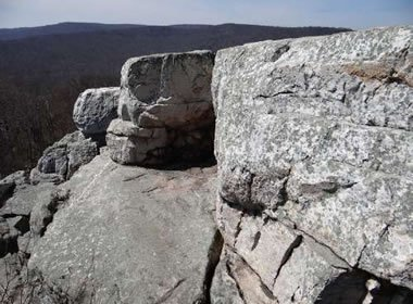 Quartzite at Chimney Rock