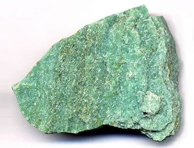 quartzite with green fuchsite
