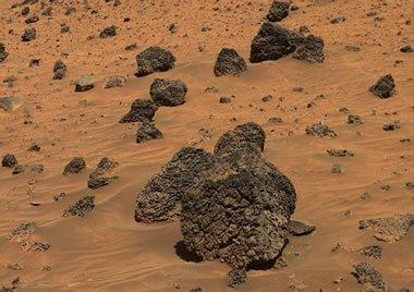 scoria on Mars