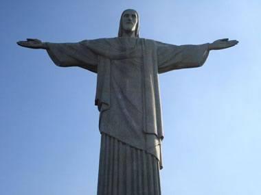 Christ the Redeemer statue - soapstone