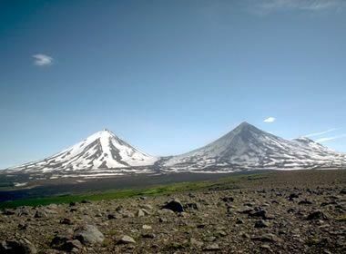 andesite stratovolcanoes