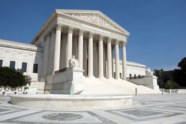 marble Supreme Court building