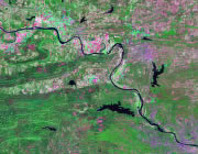 Arkansas Satellite Image