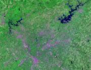 Georgia Satellite Image