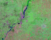 Illinois Satellite Image