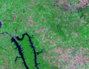 Kentucky Satellite Image