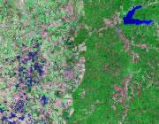 Mississippi Satellite Image