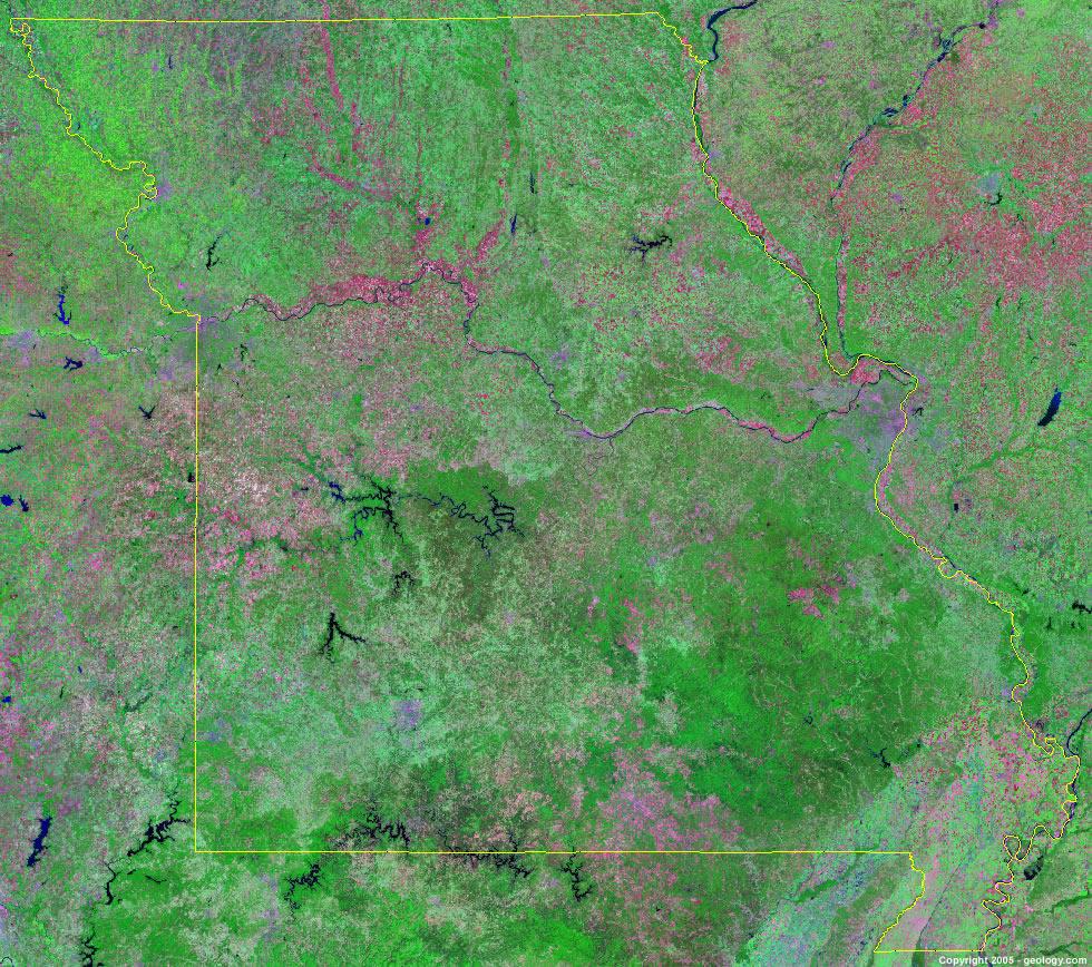missouri satellite photo