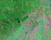 Missouri Satellite Image