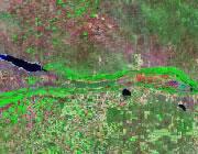 Nebraska Satellite Image