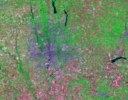 Ohio Satellite Image