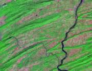 Pennsylvania Satellite Image