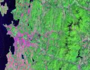 Vermont Satellite Image
