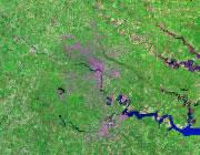 Virginia Satellite Image