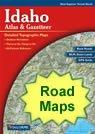 Idaho Physical Map and Idaho Topographic Map