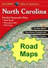 North Carolina County Map - County map of north carolina