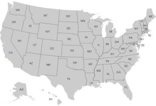 US Map Collections for All 50 States