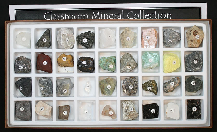 Your mineral collection