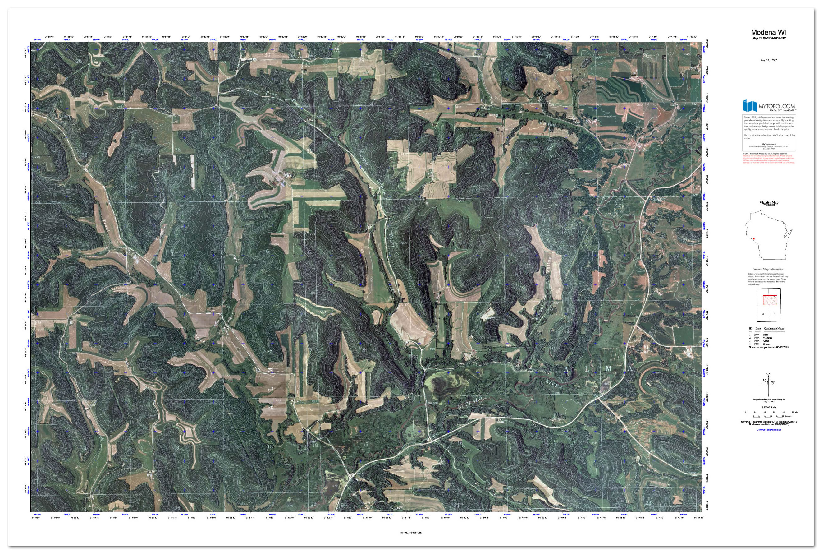 Custom Printed Topo Maps Custom Printed Aerial Photos - Latest Arial Map Us