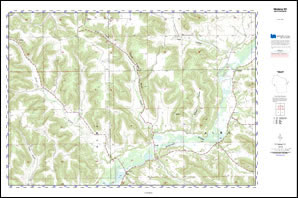 Custom Printed Topo Maps Custom Printed Aerial Photos - Print topo maps