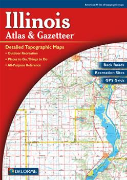Illinois DeLorme Atlas: Road Maps, Topography and More! on illinois state road map, illinois atlas map of united states, illinois road atlas, tasmania map detailed, illinois map with counties, illinois road map wisconsin, illinois highway map, illinois county political map, illinois road map rand mcnally,