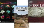 Gem, mineral and fossil books